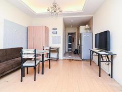 世茂广场 1室1厅1厨1卫 46.36m² 精致装修二手房效果图
