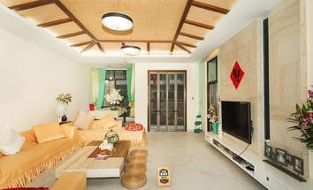 深圳圣莫丽斯客厅照片_圣莫丽斯 直降500万,复式洋房,带100平大花园,豪装安静