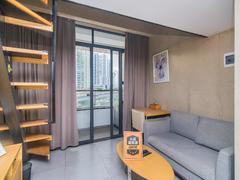 怡泰大厦 1室1厅1厨1卫 37.52m² 精致装修二手房效果图
