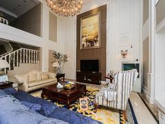 纯水岸七期 高层复式 豪华装修 七房 四个套间设计出租房效果图
