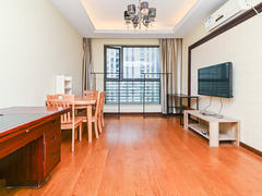 世茂广场 1室2厅1厨1卫 68.0m² 精致装修二手房效果图