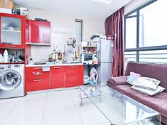 世茂广场 1室1厅1厨1卫 52.5m² 精致装修二手房效果图