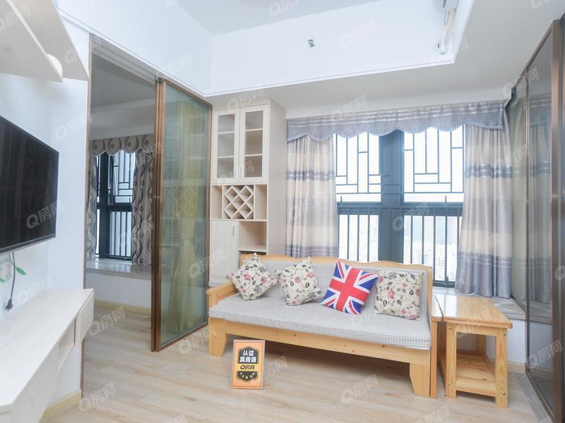 宏发嘉域 公明精装装修1房1厅1厨1卫温馨舒适,70年产权