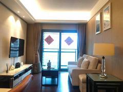 京基滨河时代广场 2室2厅1厨1卫 68.0m² 整租租房效果图