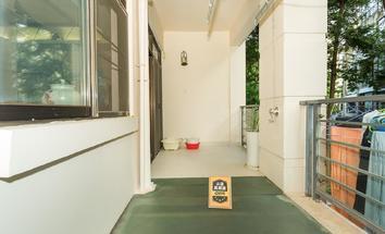 深圳圣莫丽斯阳台照片_圣莫丽斯 直降500万,复式洋房,带100平大花园,豪装安静