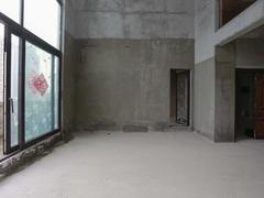 招商臻园 一套,二层叠墅带顶楼平台,中空大客厅二手房效果图
