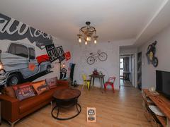 前海铂寓 56平大一房一厅 带家私电器出租租房效果图