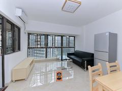 前海铂寓 2室1厅1厨1卫 80.3m² 整租租房效果图