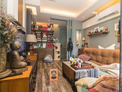 金色都汇 1室1厅1厨1卫 46.0m² 整租租房效果图
