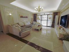 国际花都雏菊苑 4室2厅1厨2卫 163.26m² 精致装修二手房效果图