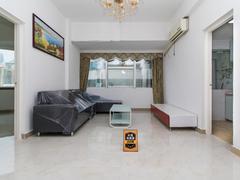 庐山大厦 国贸商圈84平舒适两房两厅 满五年无税 高层朝南二手房效果图