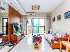 万科清林径 精装修客厅出台看花园安静 环境优美住家优选