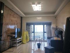 颐安都会中央2期 安静朝向 南向阳台 装修唯美 配套成熟 拎包入住租房效果图