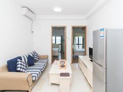 远洋新干线一期 2室2厅0厨1卫48.58m²精致装修二手房效果图